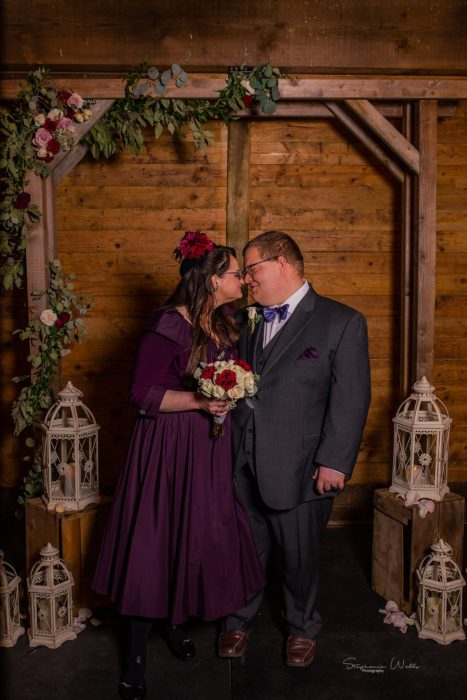 Stephanie Walls Photography 0275 467x700 Barn at Holly Farms Elopement of Kimberly and Mike