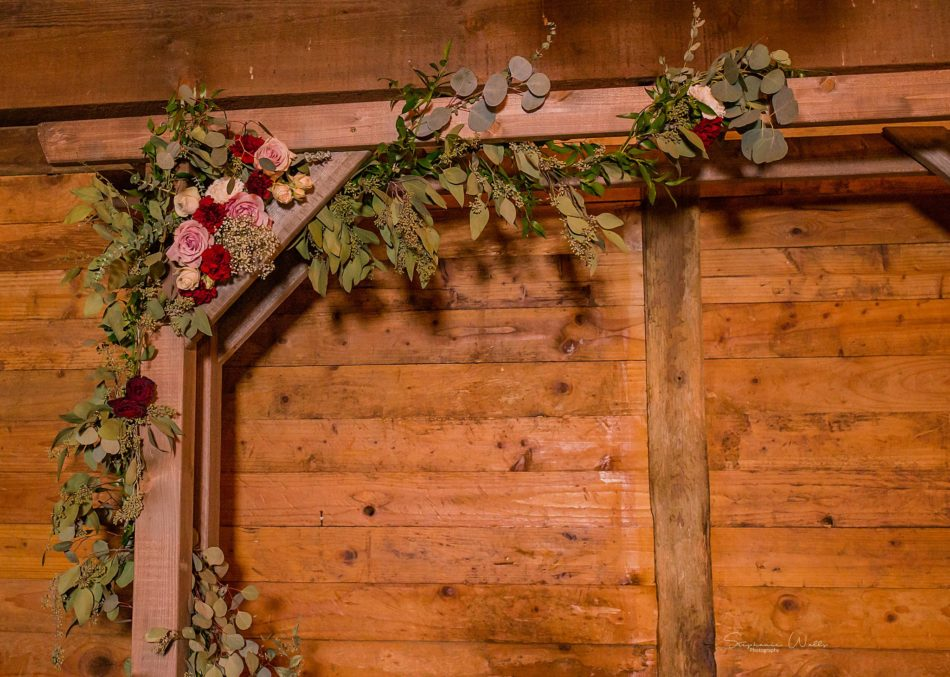 Stephanie Walls Photography 0279 950x677 Barn at Holly Farms Elopement of Kimberly and Mike