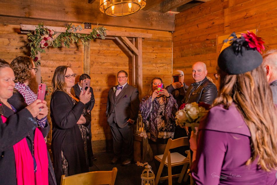 Stephanie Walls Photography 0287 950x633 Barn at Holly Farms Elopement of Kimberly and Mike