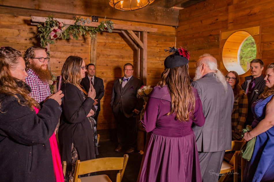 Stephanie Walls Photography 0288 950x633 Barn at Holly Farms Elopement of Kimberly and Mike