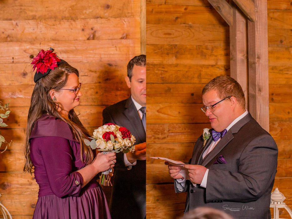 Stephanie Walls Photography 0289 934x700 Barn at Holly Farms Elopement of Kimberly and Mike