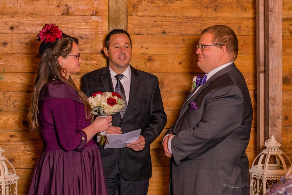 Stephanie Walls Photography 0291 950x634 Barn at Holly Farms Elopement of Kimberly and Mike