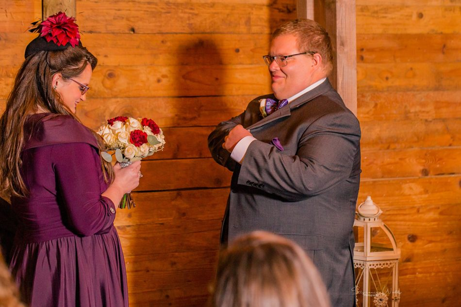 Stephanie Walls Photography 0292 950x633 Barn at Holly Farms Elopement of Kimberly and Mike