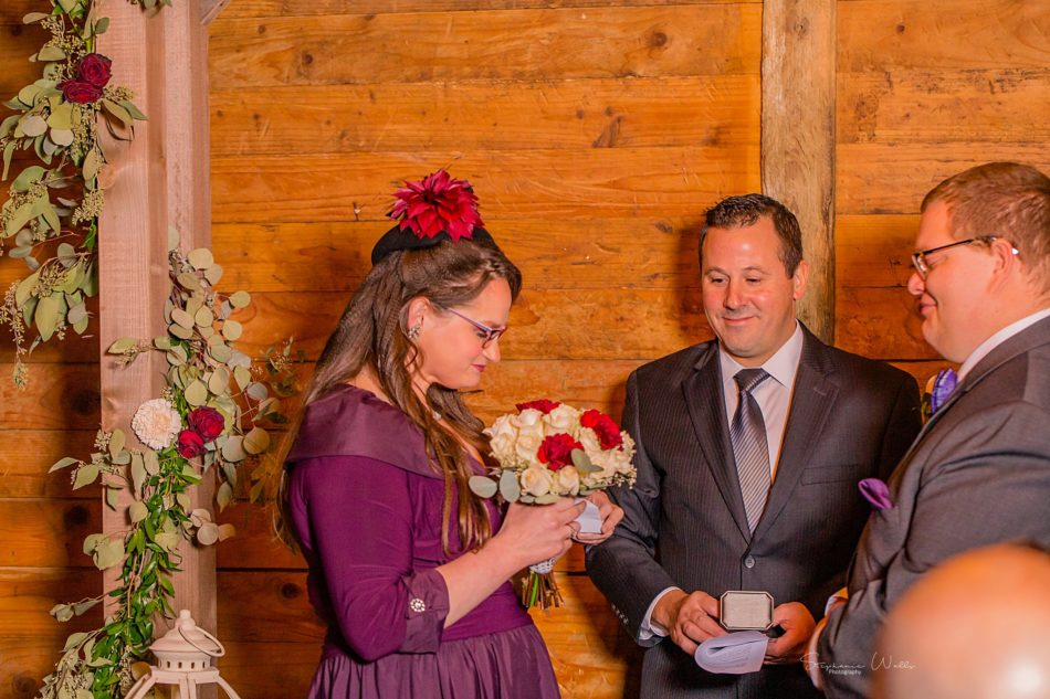 Stephanie Walls Photography 0293 950x633 Barn at Holly Farms Elopement of Kimberly and Mike