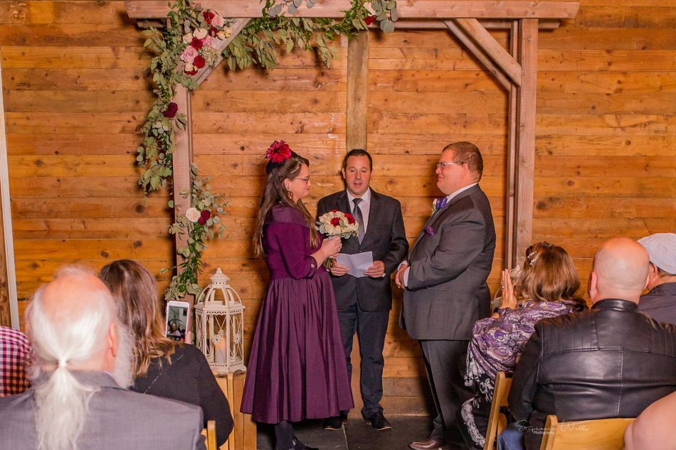 Stephanie Walls Photography 0294 950x633 Barn at Holly Farms Elopement of Kimberly and Mike