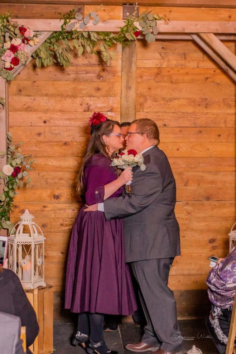 Stephanie Walls Photography 0295 467x700 Barn at Holly Farms Elopement of Kimberly and Mike