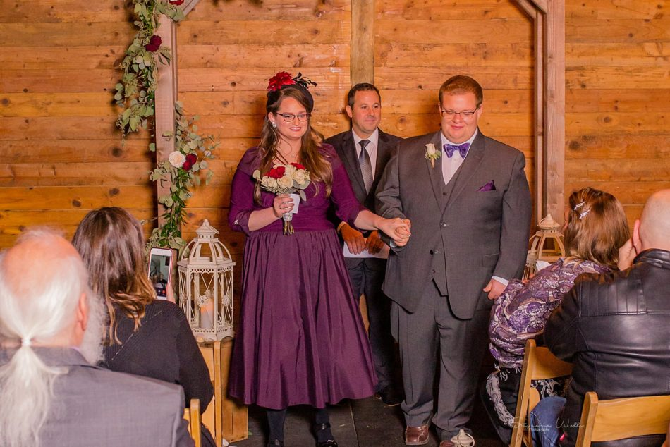 Stephanie Walls Photography 0298 950x634 Barn at Holly Farms Elopement of Kimberly and Mike