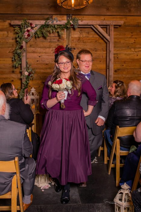 Stephanie Walls Photography 0299 467x700 Barn at Holly Farms Elopement of Kimberly and Mike