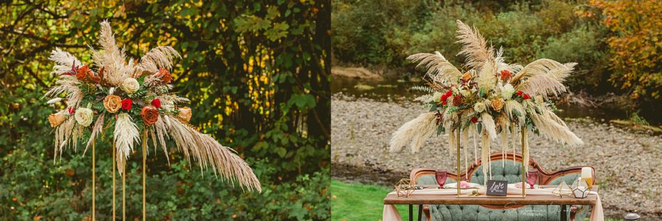 Stephanie Walls Photography 0303 950x317 Fall Boho Styled Shoot at Rivers Edge B&B Wedding Venue.