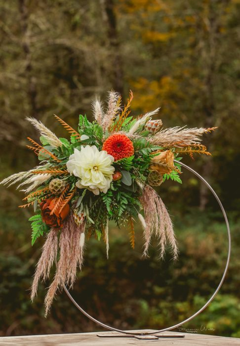 Stephanie Walls Photography 0305 486x700 Fall Boho Styled Shoot at Rivers Edge B&B Wedding Venue.