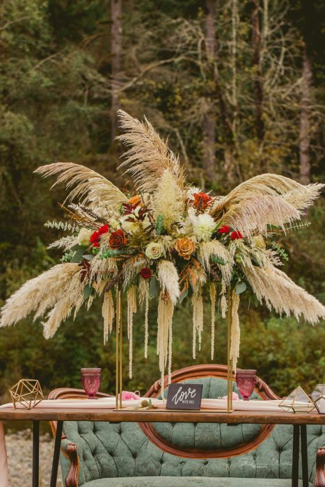 Stephanie Walls Photography 0306 467x700 Fall Boho Styled Shoot at Rivers Edge B&B Wedding Venue.