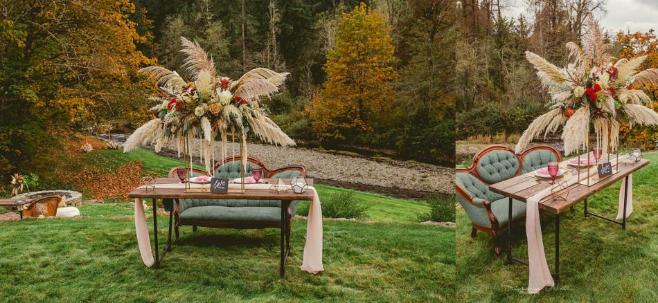 Stephanie Walls Photography 0309 950x438 Fall Boho Styled Shoot at Rivers Edge B&B Wedding Venue.