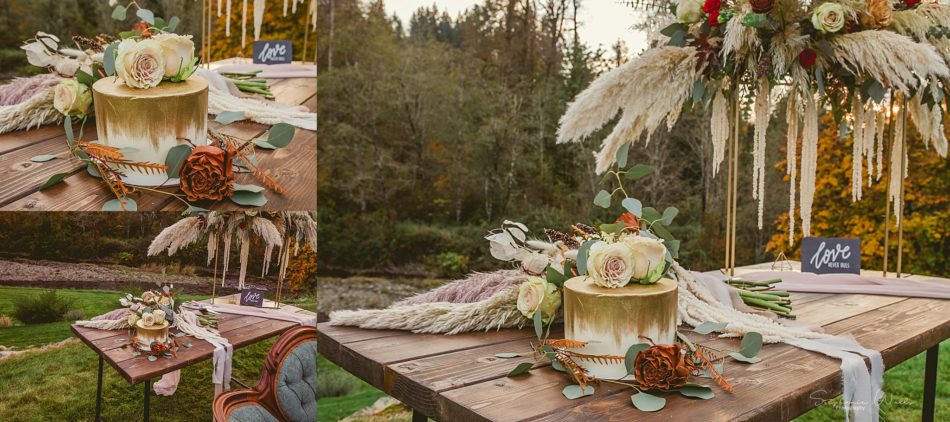 Stephanie Walls Photography 0312 950x422 Fall Boho Styled Shoot at Rivers Edge B&B Wedding Venue.