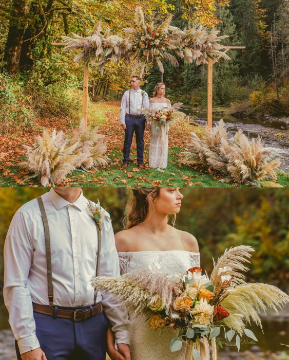 Stephanie Walls Photography 0313 563x700 Fall Boho Styled Shoot at Rivers Edge B&B Wedding Venue.