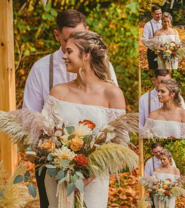 Stephanie Walls Photography 0315 622x700 Fall Boho Styled Shoot at Rivers Edge B&B Wedding Venue.