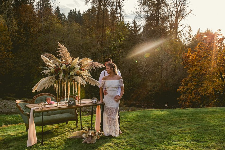 Stephanie Walls Photography 0328 950x633 Fall Boho Styled Shoot at Rivers Edge B&B Wedding Venue.
