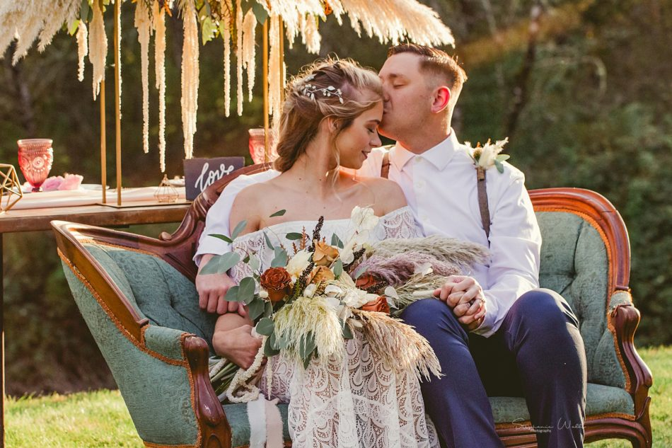 Stephanie Walls Photography 0329 950x633 Fall Boho Styled Shoot at Rivers Edge B&B Wedding Venue.