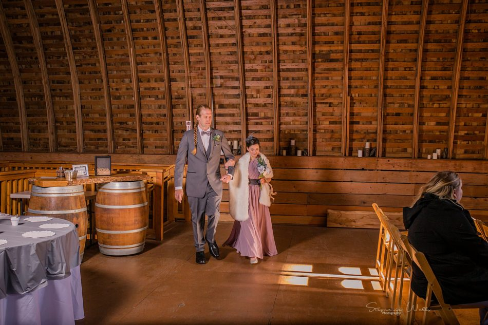 Stephanie Walls Photography 0341 1 950x633 Solstice Barn at Holly Farms Elopement of Ashley and Jordan