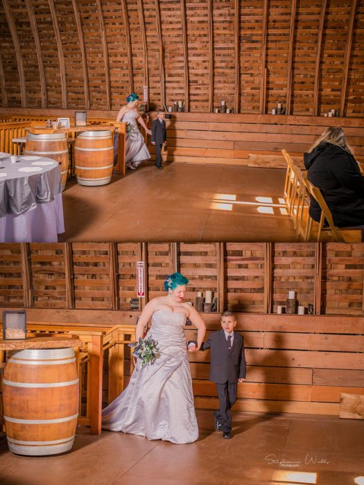 Stephanie Walls Photography 0342 1 525x700 Solstice Barn at Holly Farms Elopement of Ashley and Jordan