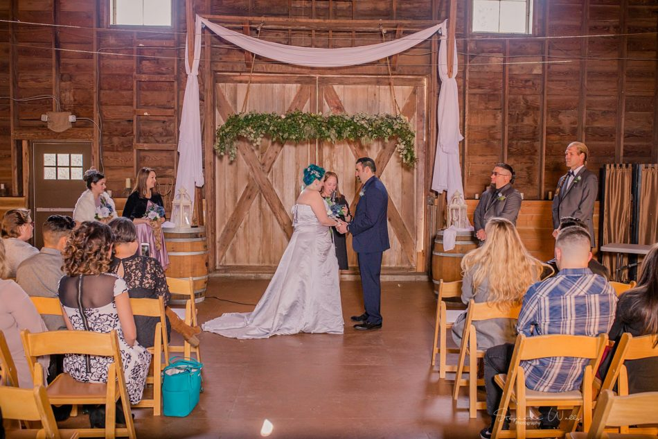 Stephanie Walls Photography 0349 1 950x633 Solstice Barn at Holly Farms Elopement of Ashley and Jordan
