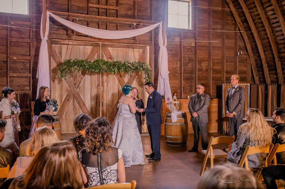Stephanie Walls Photography 0351 1 950x633 Solstice Barn at Holly Farms Elopement of Ashley and Jordan