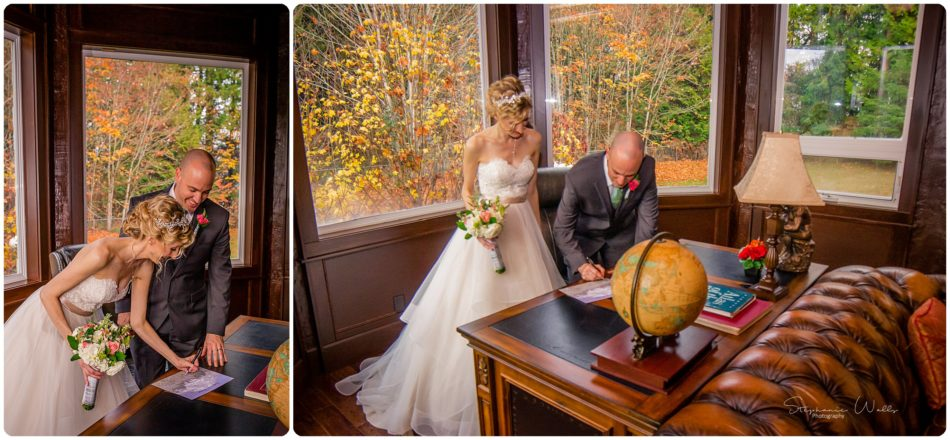 Stephanie Walls Photography 0460 950x440 A fairytale at Gray Stone Castle of Angela and Cris